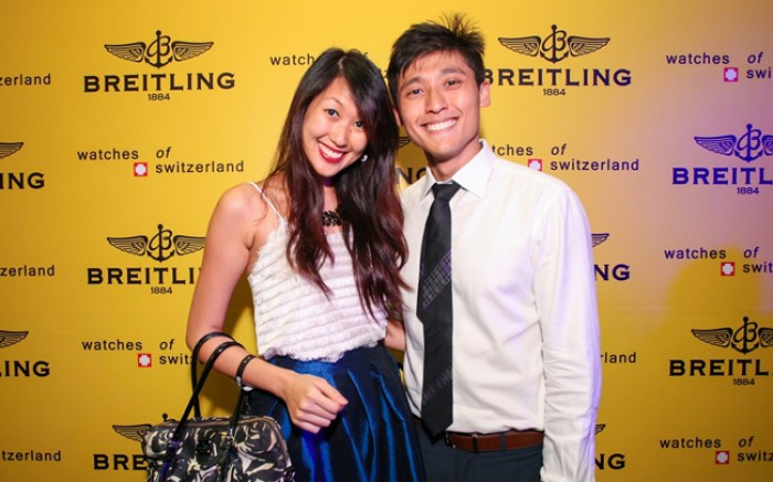 WTFSG_breitling-chronomat-30th-anni-exhibition_Britney-Tan_Alvin-Koh