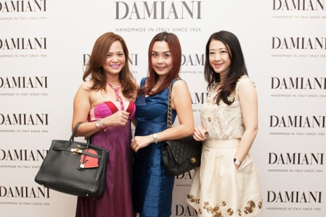 WTFSG_damiani-90th-anniversary-celebration_YK-Cheah_Joyce-Cheah_Christine-Cheah