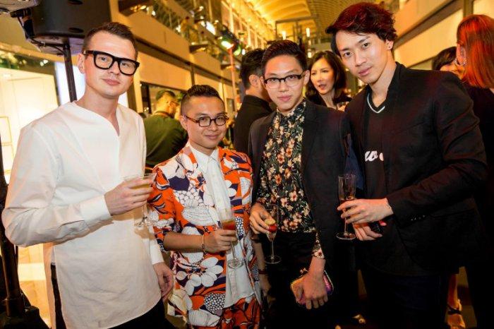 WTFSG_roberto-cavalli-flagship-boutique-opening_Jamie-Ashford-Smith_Cornelyus-Tan_Gabby-Gabbana_Wilber-Go