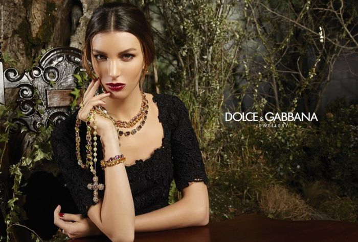 Dolce & Gabbana Fall 2014 Jewelry Ads