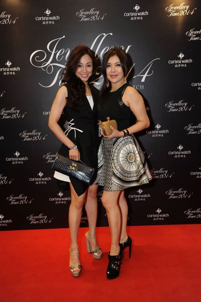 WTFSG_jewellery-time-2014-official-opening-party_Tanny-Kea_Belinda-Chua