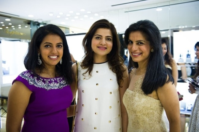 WTFSG_temptations-jewellery-boutique-launch-singapore_Michelle-Buxani_Roshan-Valirum_Reema-Buxani