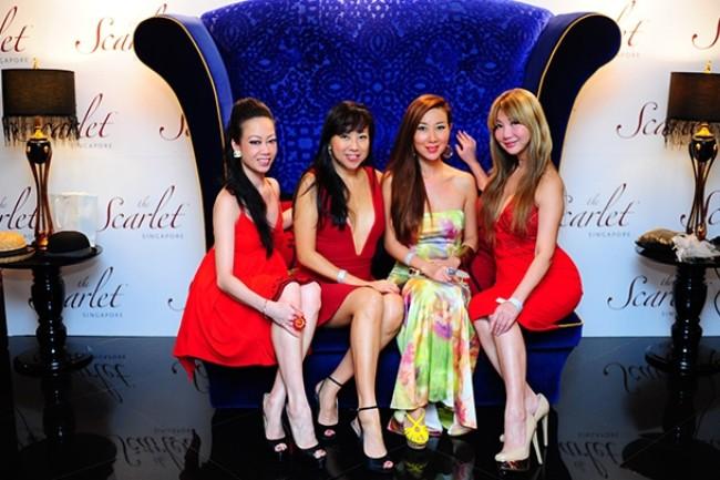 WTFSG_the-scarlet-singapore-housewarming-party_Rowena-Yeoh_Ana-Liew_Michelle-Ma_Sayuri-Hoshino