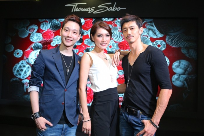 WTFSG_thomas-sabo-spring-2014-launch-sunway-pyramid_Jeremy-Teo_Amber-Chia_Hansen-Lee