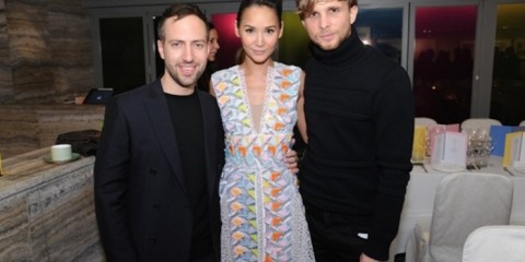 WTFSG_joyce-x-peter-pilotto-event_Peter-Pilotto_Amanda-Strang_Christopher-de-Vos