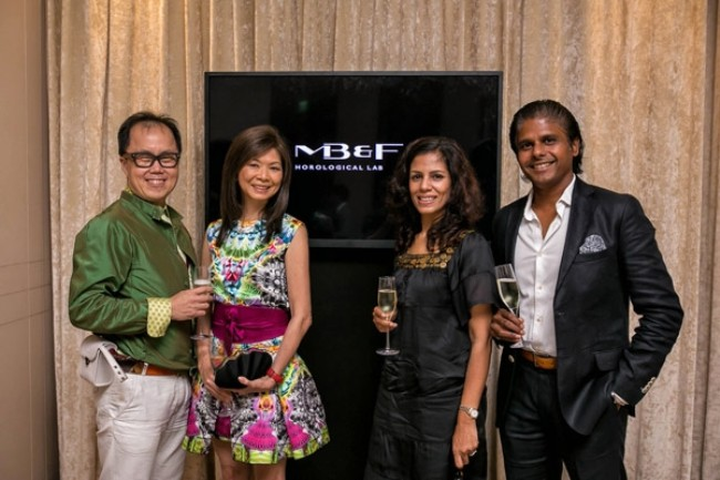 WTFSG_world-premiere-horological-machine-no-6-space-pirate-mbf_Bernard-Cheong_Dolly-Cheong_Ms-Meera_Mr-Chandra
