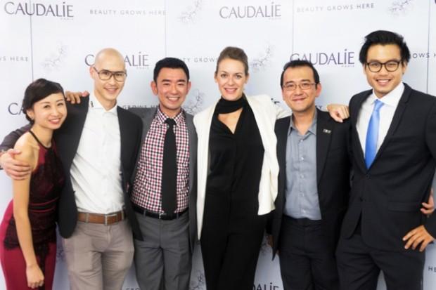 WTFSG_caudalie-boutique-spa-grand-opening_June-Choo_Hubert-W-Hoi_Ken-Lim_Cecile-Ossola_Bernard-Lim_Victor-King