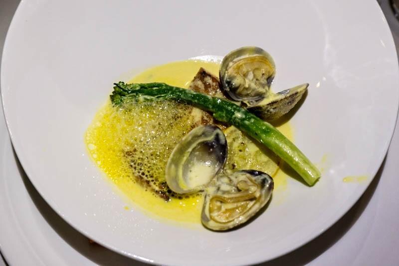 WTFSG_christmas-private-dining-ristorante-takada_Fish-Asari_Saffron-Cream-Sauce