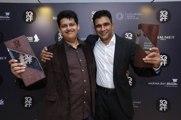 WTFSG_silver-screen-awards-2014_Chaitanya-Tamhane_Vivek-Gomber