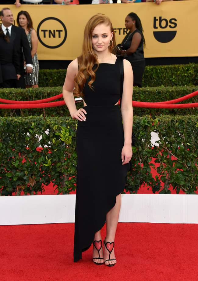 WTFSG-sag-awards-2015-sophie-turner-black