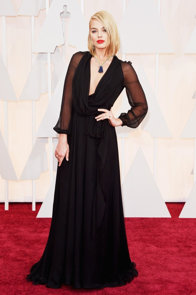 WTFSG_margot-robbie-saint-laurent-black-dress-oscars-2015