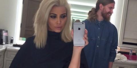 WTFSG_kim-kardashian-platinum-blonde-hair-selfie