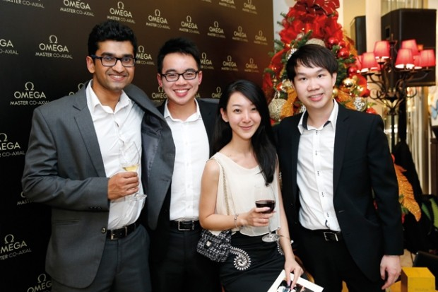 WTFSG_omega-seamaster-300-collection-lounge-party_Arvind-Raghavan_Keith-Wong_Liao-Shuangwei_Jonathan-Hu