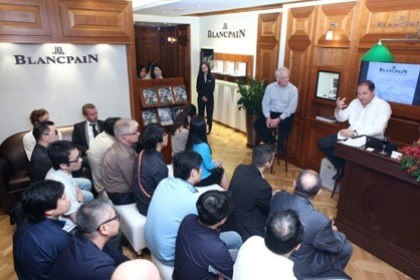 WTFSG_blancpain-VIP-workshop-hong-kong_Jeffrey-Kingston_Alain-Delamuraz