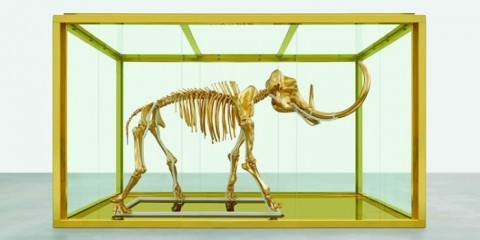 WTFSG_damien-hirst-golden-mammoth-skeleton_1