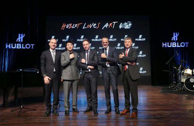 WTFSG_hublot-lang-lang-brand-ambassador_Philippe-Tardivel_Lang-Lang_Loic-Biver_Benoit-Toulin_Li-Fei