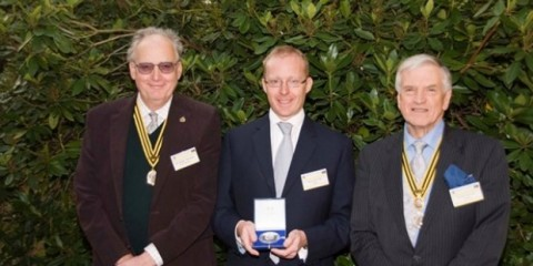WTFSG_roger-w-smith-awarded-bhi-silver-medal