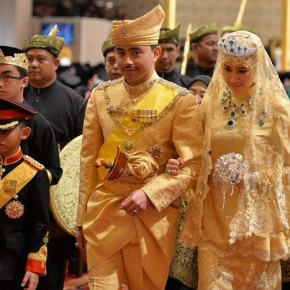 Sultan Of Brunei's Son Marries In Gold-Studded Glory