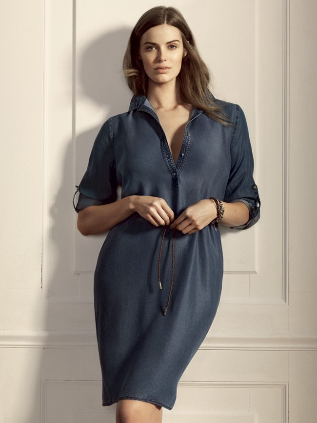 Robyn Lawley Fronts Violeta By Mango Catalogue fa56f70ec86