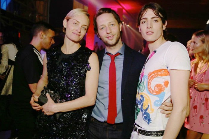 WTFSG_star-studded-miu-miu-club-event-paris_Amber-Valletta-Derek-Blasberg-Harry-Brant