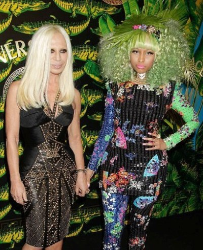 WTFSG_new-york-runway-the-versace-for-hm-collection_Donatella-Versace_Nicki-Minaj