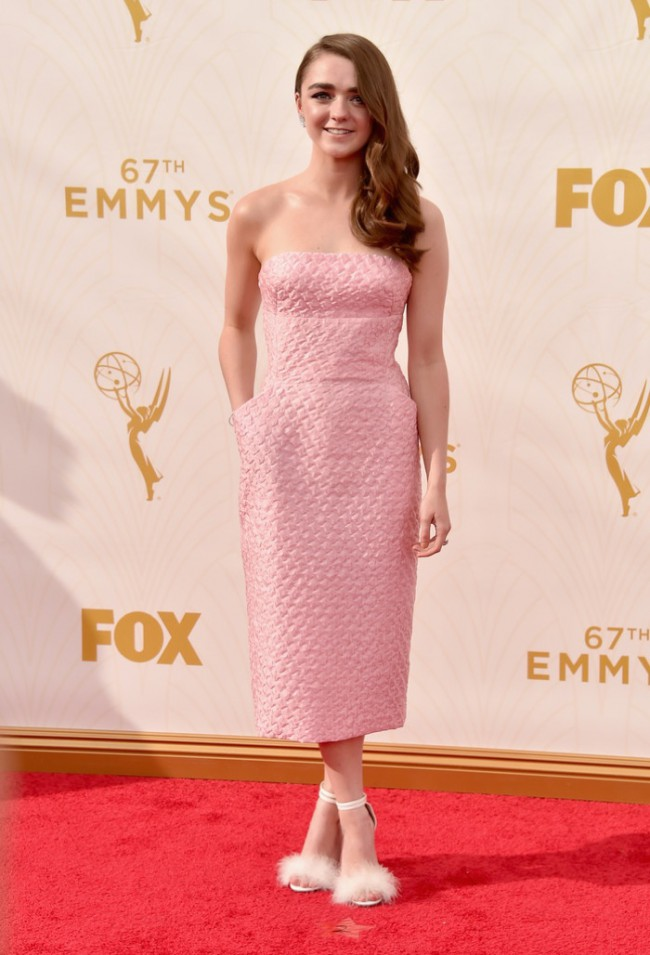 WTFSG_Maisie-Williams-2015-Emmys-Pink-Dress