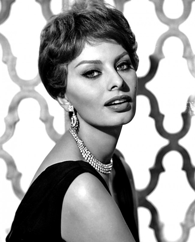 Wtfsg Sophia Loren Short Hairstyles 1950s Wardrobe Trends Fashion Wtf