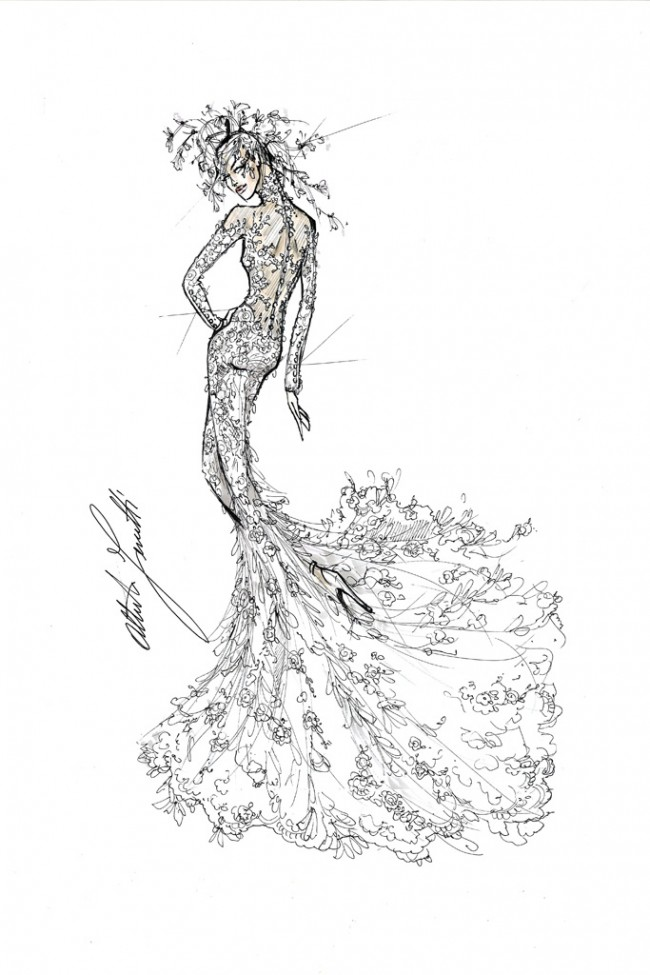 WTFSG_lady-gaga-wedding-dress-ideas-sketches_Alberta-Ferretti