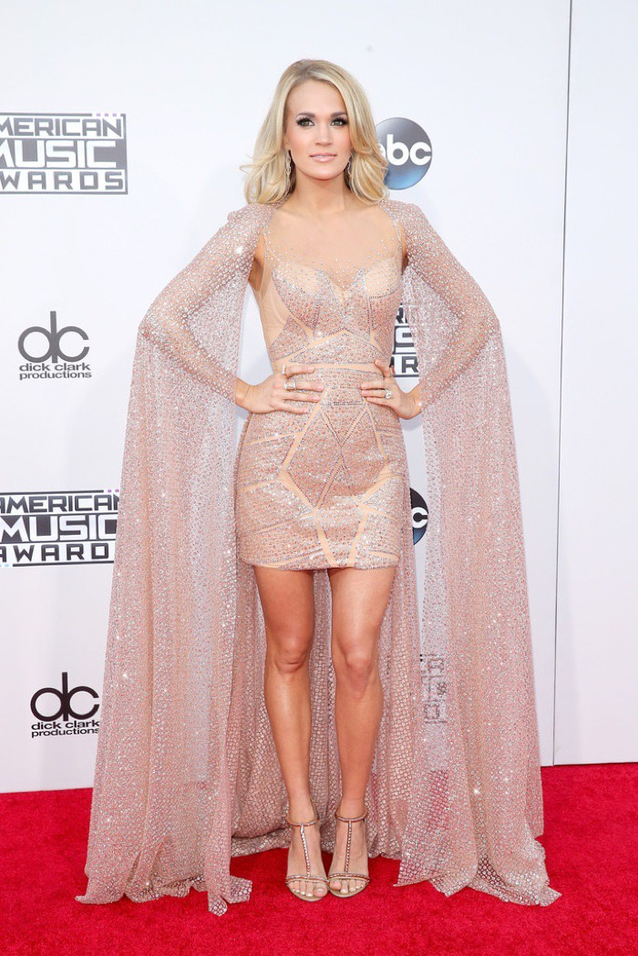 WTFSG_Carrie-Underwood-2015-American-Music-Awards-Elie-Madi-Cape-Dress
