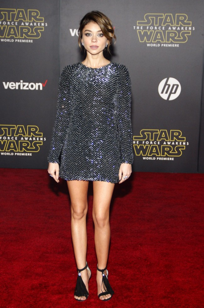 WTFSG_Sarah-Hyland-Kaufmanfranco-Sequin-Dress-Star-Wars-Premiere
