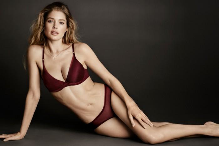 0a5c44f847184 Doutzen Kroes Models H&M's Fall Lingerie Line - Wardrobe Trends ...