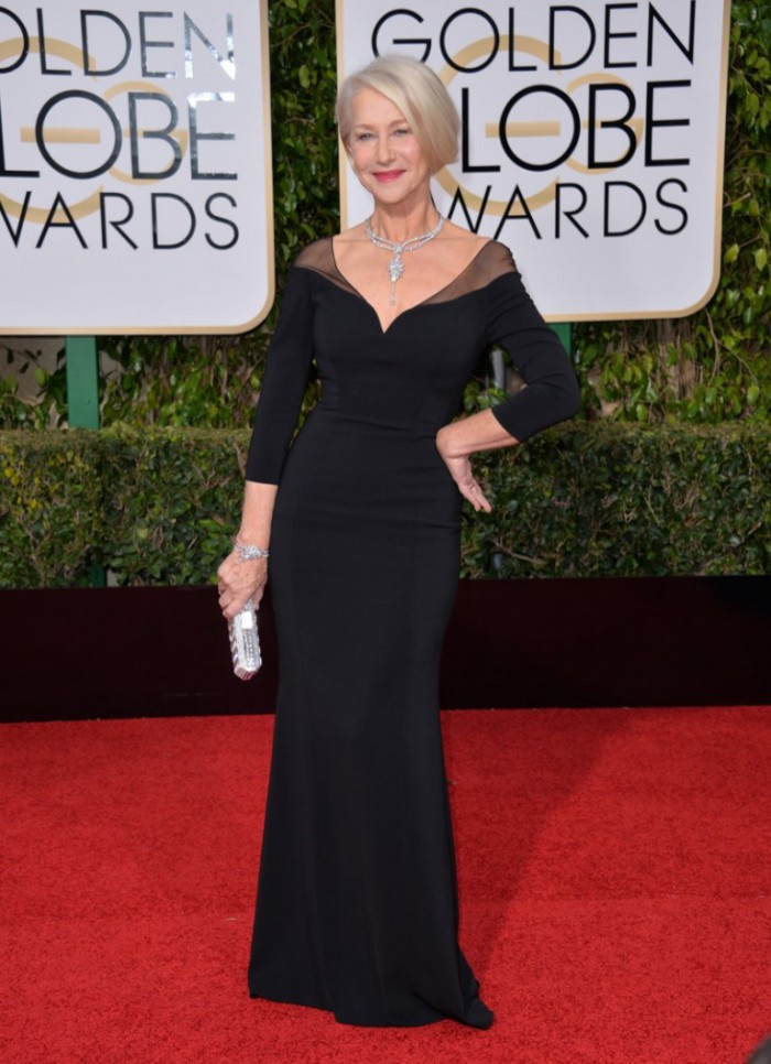 WTFSG_Helen-Mirren-2016-Golden-Globes-Black-Badgley-Mischka-Dress