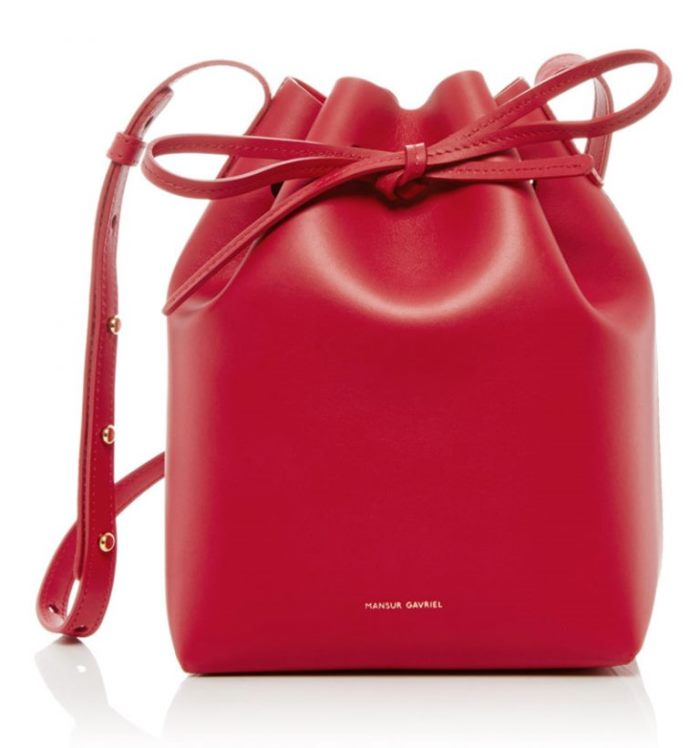 WTFSG_Mansur-Gavriel-Red-Flamma-Mini-Bucket-Bag