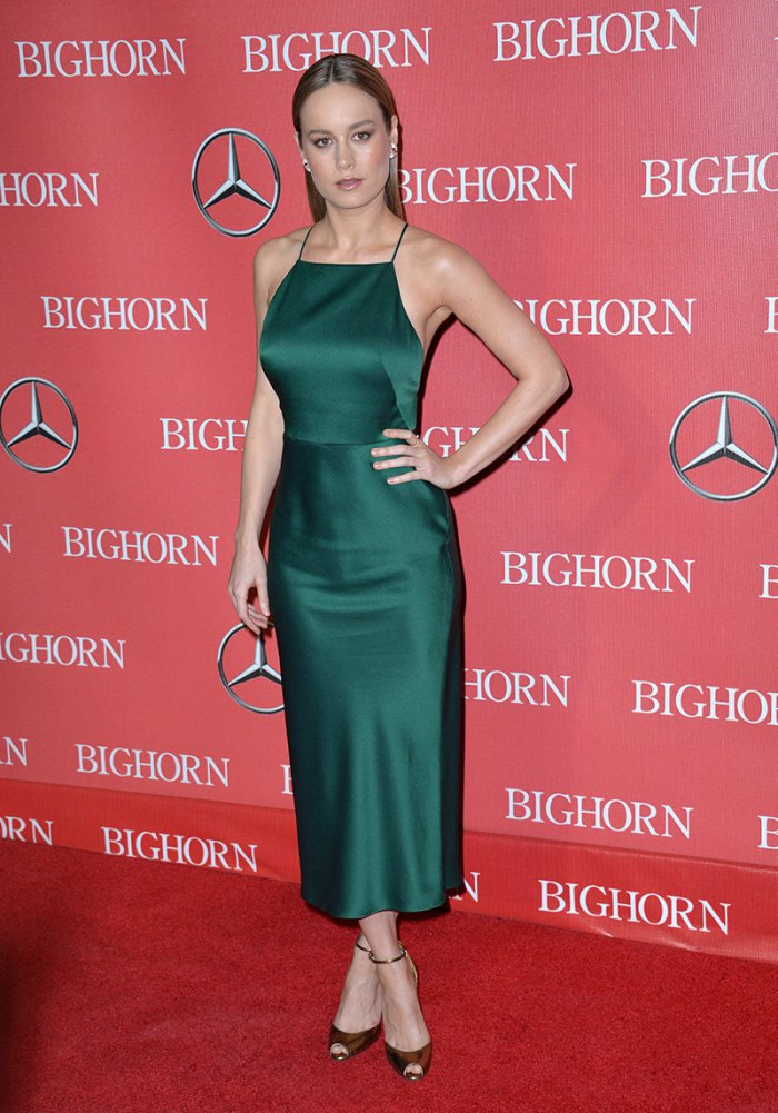 WTFSG_Brie-Larson-Green-Slip-Dress