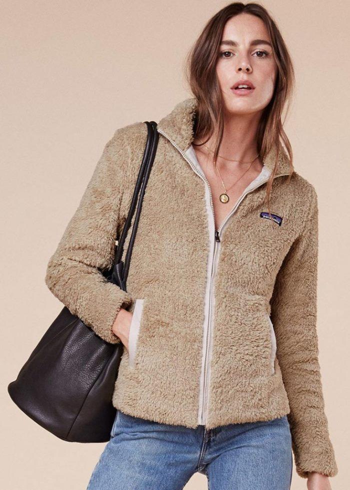 reformation-patagonia-los-gatos-fleece-jacket