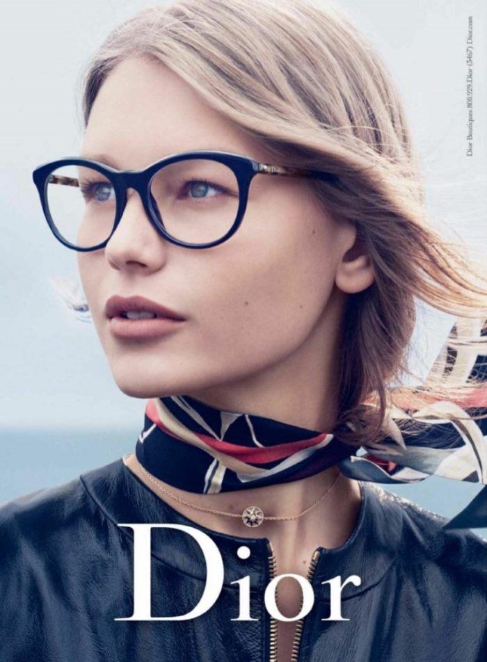 Sofia Mechetner Charms In Dior S New Eyewear Ads