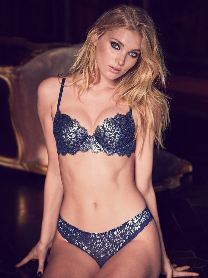546e87e3d1527 Elsa Hosk Smolders in Latest Victoria's Secret Images - Wardrobe ...