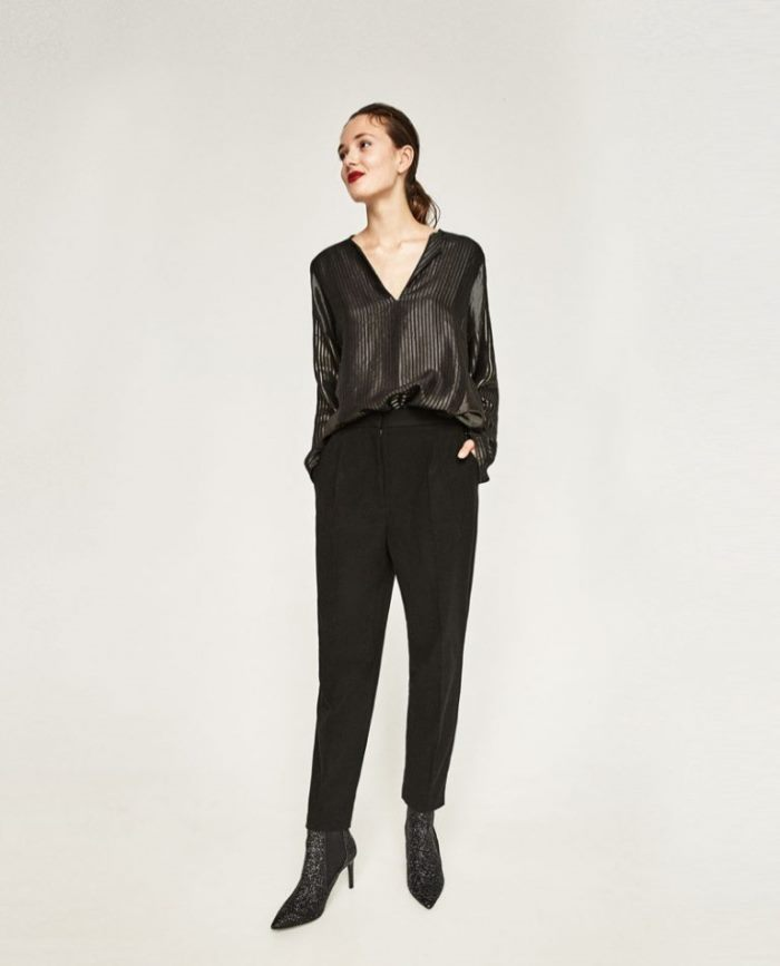 133a0d103d Zara Brings on the Shine with Evening Collection - Wardrobe Trends ...