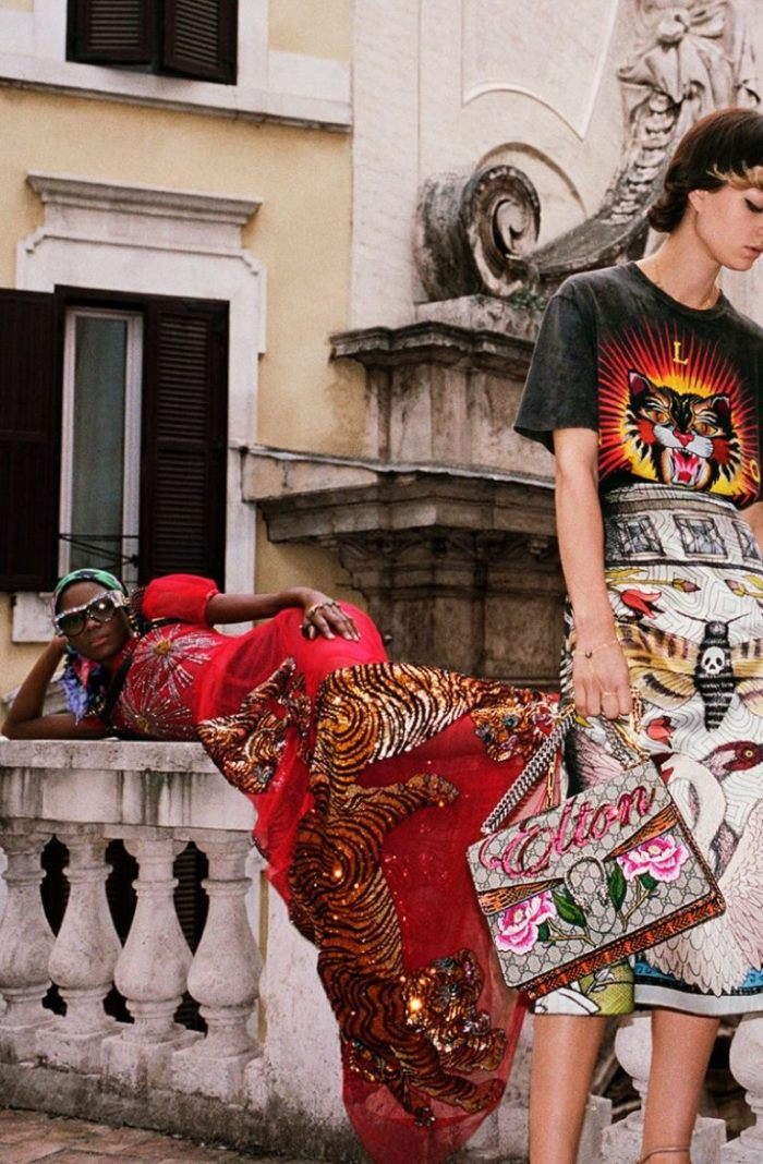 Gucci Gets Wild in Rome for Spring 2017 Campaign - Wardrobe Trends ... 648ce4d14869