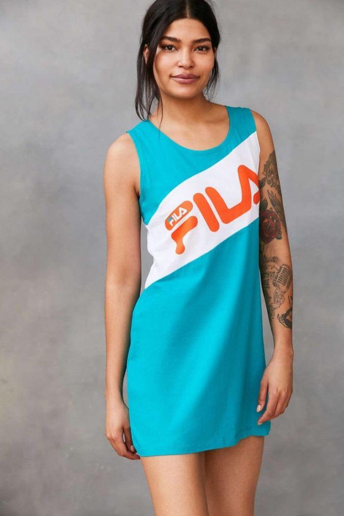 5c30dca8e1312 Keep warm in this – FILA x Urban Outfitters Alexa Crew Neck Sweatshirt