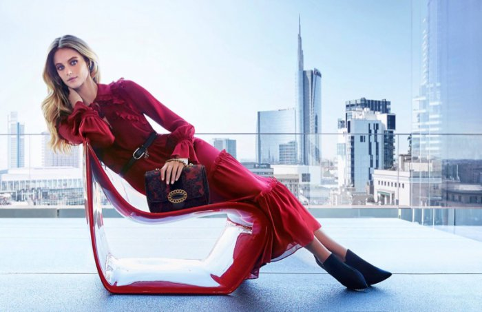 d64f51dc0714 Kate Bock Fronts Luisa Spagnoli s Fall 2017 Campaign - Wardrobe ...