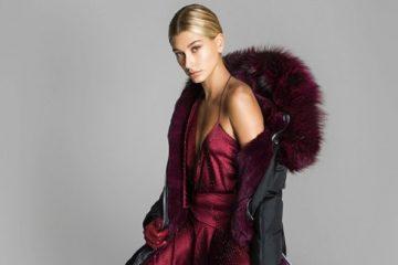 a740c4d9e4 Hailey Baldwin Wears Sleek Styles in Nicole Benisti s Fall 2017 Campaign