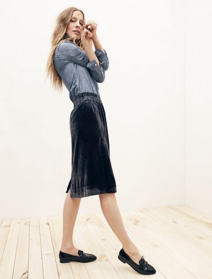 ffe15cb9779 Cool Combo  6 Velvet   Denim Looks from J. Crew - Wardrobe Trends ...