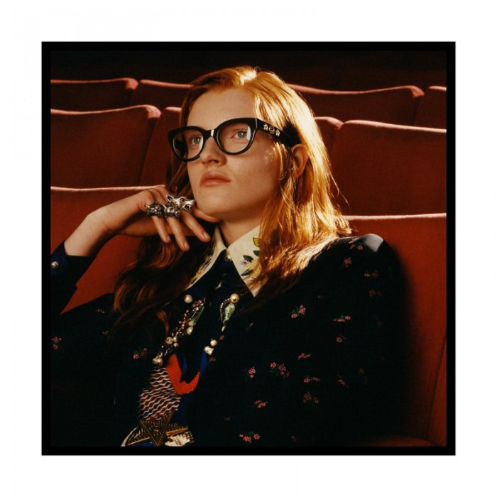 4235a9a3408 Models pose at the movies for Gucci Eyewear s fall-winter 2017 campaign