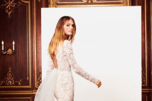 ab3695a2eb9 Oscar de la Renta s Fall 2018 Bridal Dresses Are Beyond Dreamy - Wardrobe  Trends Fashion (WTF)