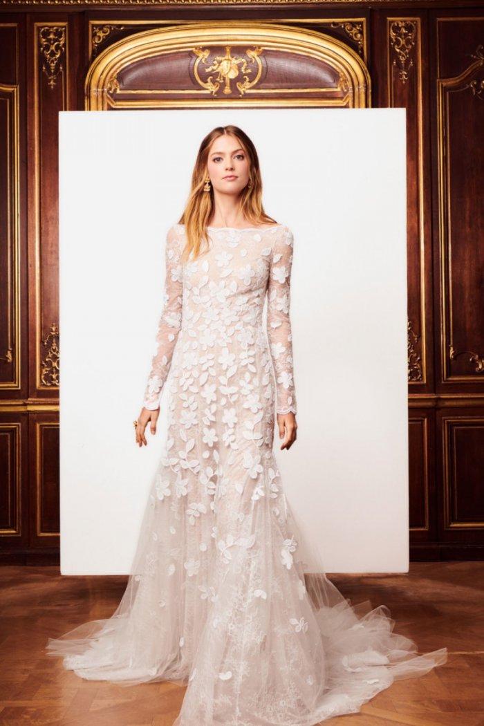 Oscar De La Rentas Fall 2018 Bridal Dresses Are Beyond Dreamy