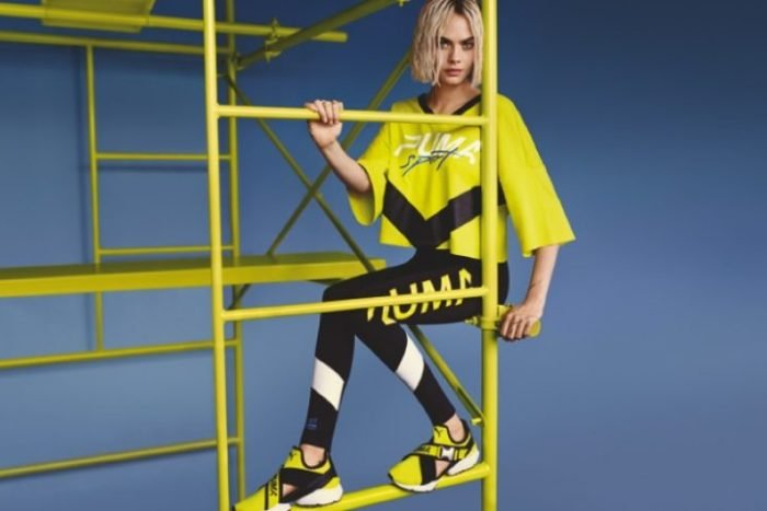 Cara Delevingne Shines in Neon for New PUMA Campaign ...