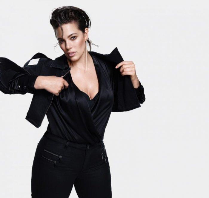 Ashley Graham Strikes a Pose for Marina Rinaldi s Fall 2018 Campaign ... a00862a55