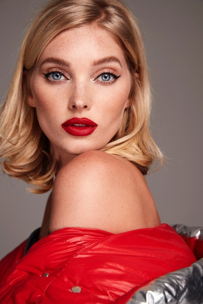 Elsa Hosk Layers Up In Nicole Benisti Fall 2018 Campaign