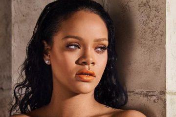 bf5270476a6 Rihanna Stuns in Fenty Beauty's New Mattemoiselle Shades